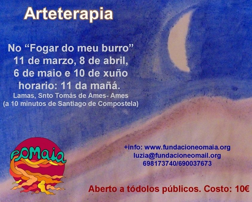 Arteterapia no Fogar do Meu Burro