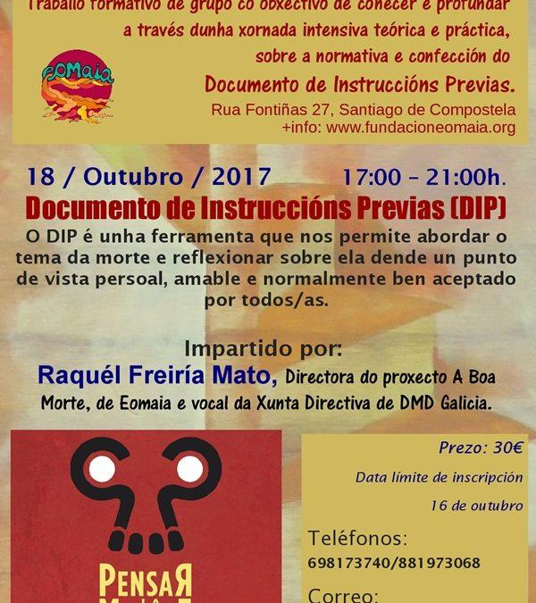 Seminario sobre Documento de Instrucións Previas (DIP)